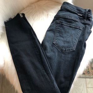 Mother denim high rise jeans